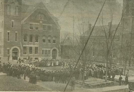 1892, the fifth Wellsville school building
