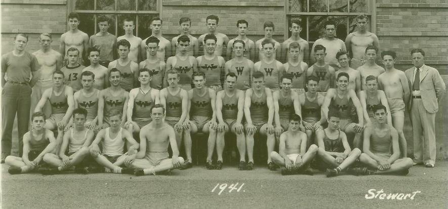1941 Track Team