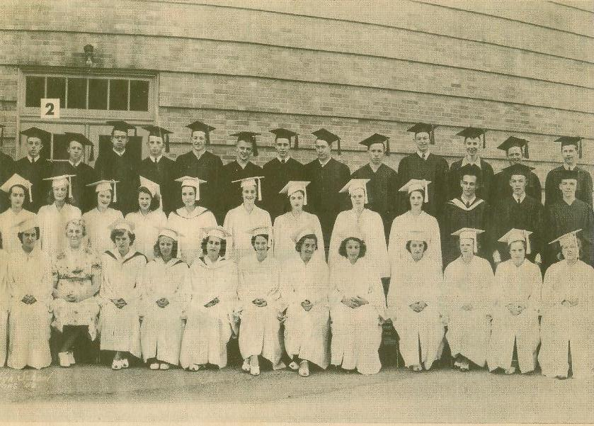 1941 graduation photo 2