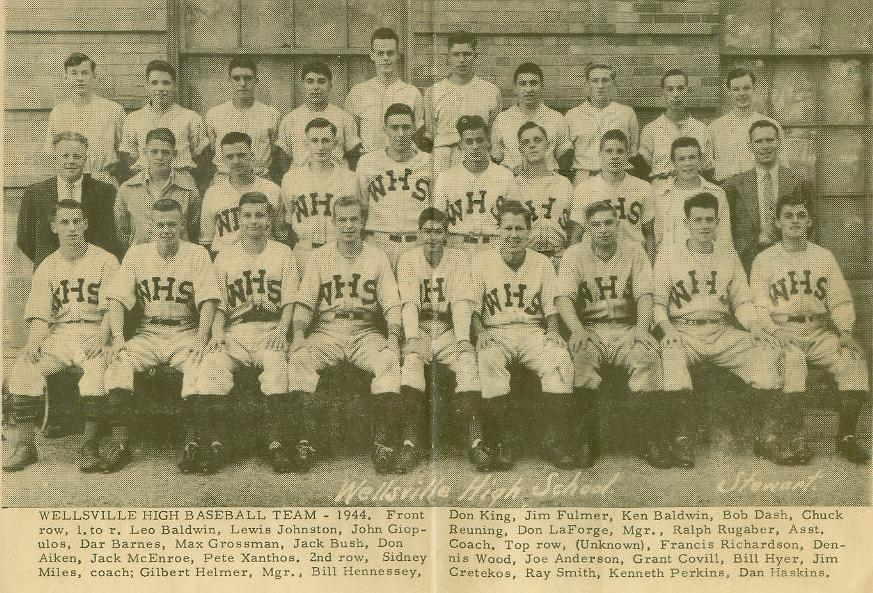 1944 Baseball Team