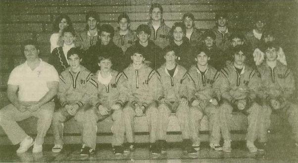 1989-1990 Wrestling Team