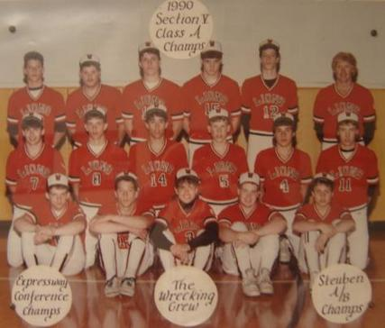 1990 Lions Baseball Team The Wrecking Crew