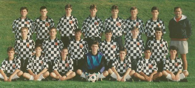 1993 Boys Soccer Team