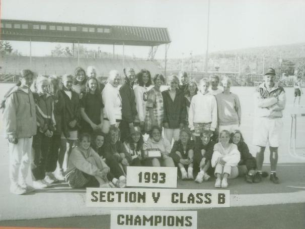 1993 Girls Track Sectional Team