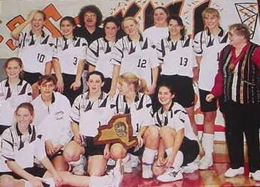 1994 N.Y. State Girls Volleyball Champions
