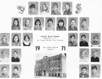 2nd Grade - Mrs. Barnett at Martin Street School