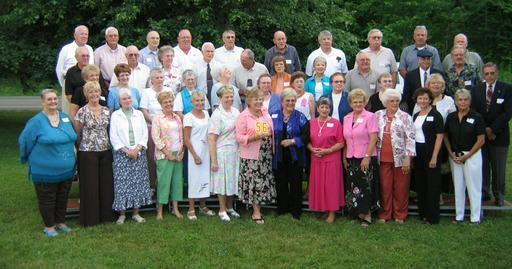 50th Reunion. Picture taken June 24, 2006