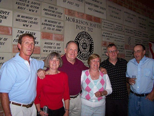 Guy Grantier, Susan Embser, Fred Streb, Kathy Grantier, Steve Hand, John Cook