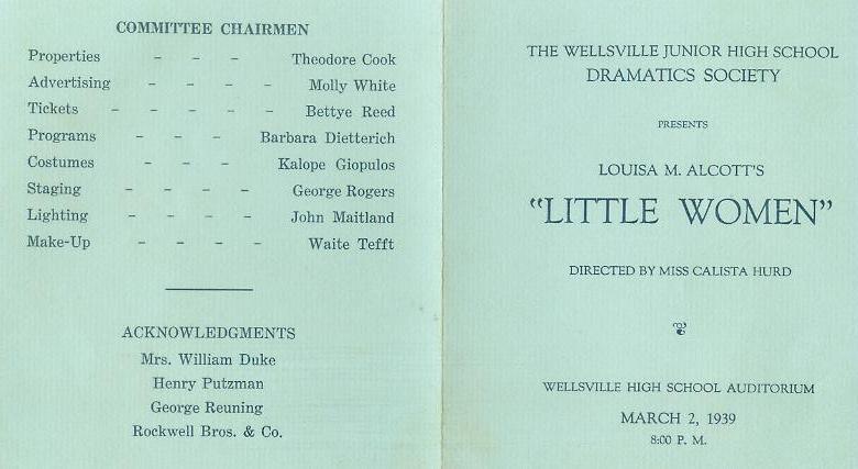 Little Women pg 1