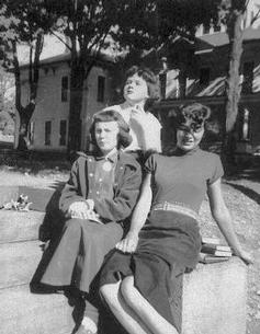 Mary Gail (Patterson) Prevost, Dorothy (Collins) Whitwood, Joan (McNulty) Forbes