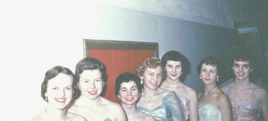 Senior Ball, December, 1955
