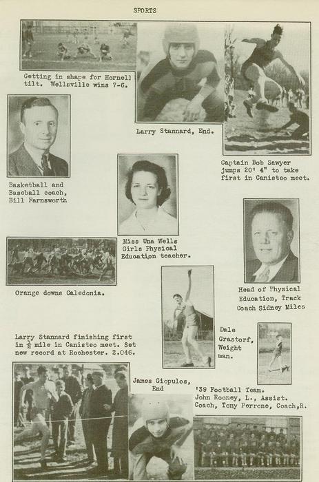 Wellsville High School Class of 1940 pg1