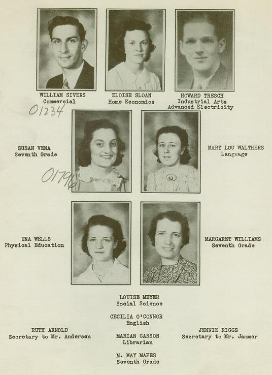 Wellsville High School Class of 1940 pg10