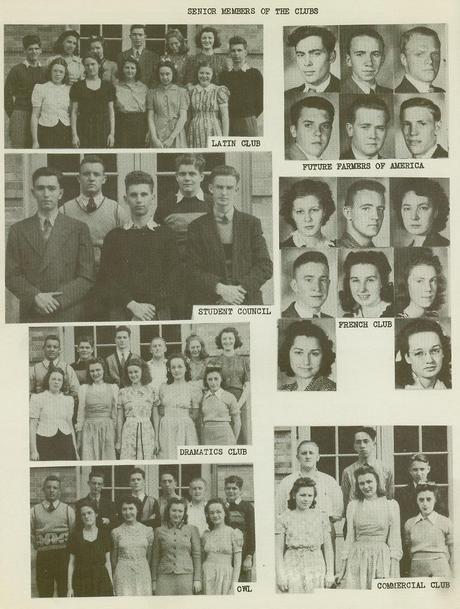 Wellsville High School Class of 1940 pg2
