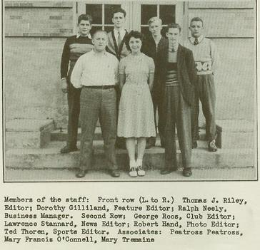Wellsville High School Class of 1940 pg6