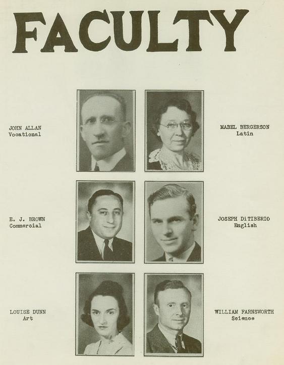 Wellsville High School Class of 1940 pg7
