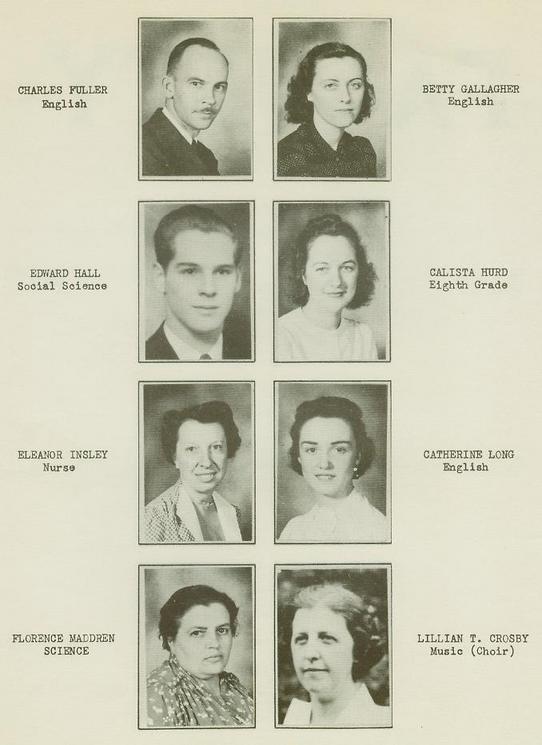 Wellsville High School Class of 1940 pg8
