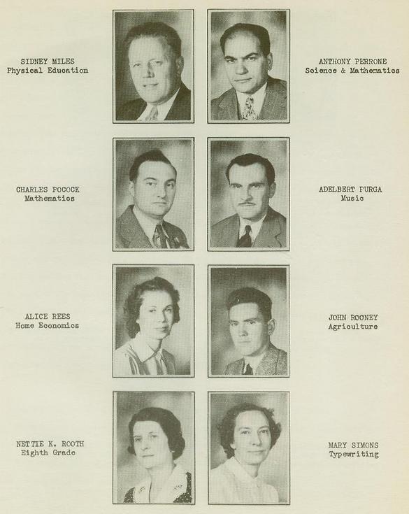 Wellsville High School Class of 1940 pg9
