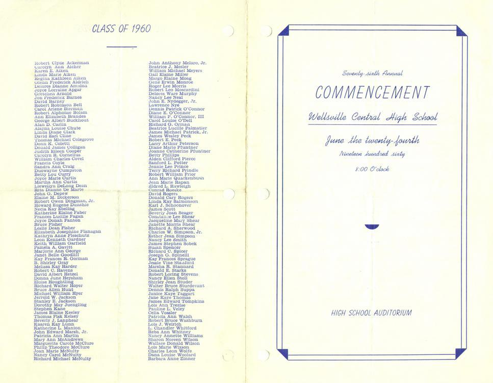 commencement program 1