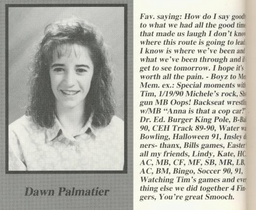 palmatier, dawn