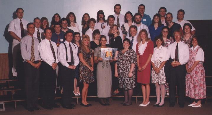 10 year Class Reunion - June 1994