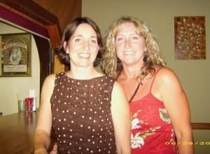 Kathleen and Anna