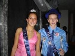King and Queen   Taylor Houseman and Doug Graham