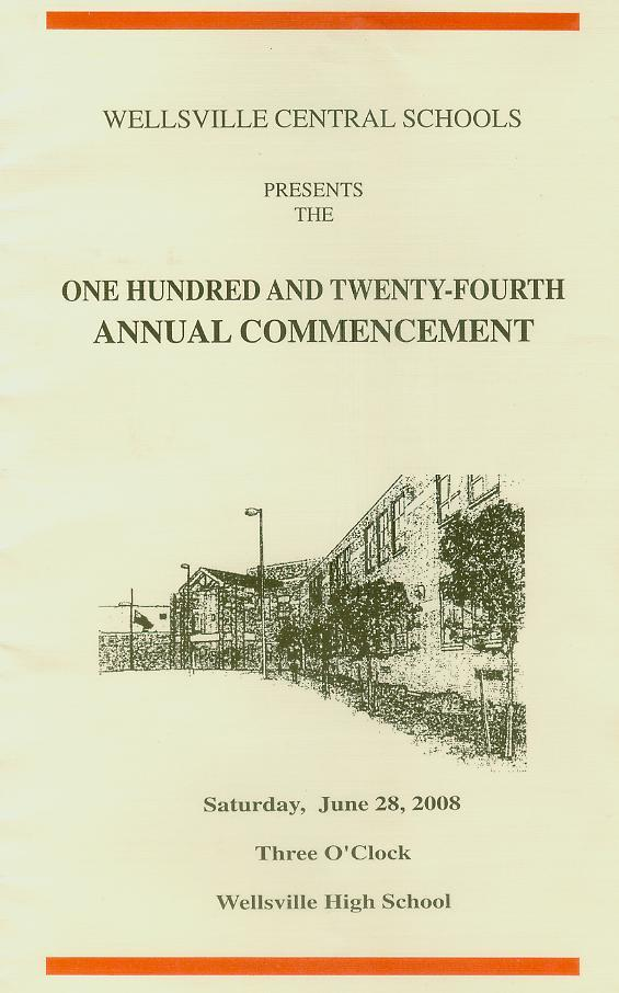 commencement program pg 1