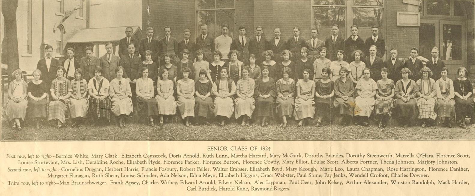 1924 senior class