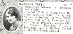 Barbara Tefft