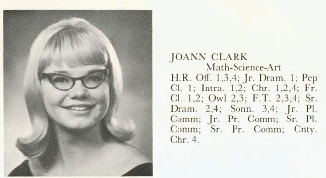 Clark, Joann