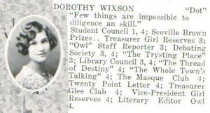 Dorothy Wixson