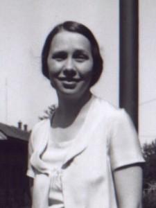 Evalena Brown 1925