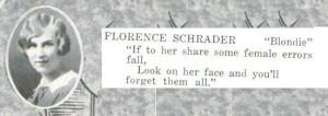Florence Schrader