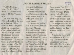 James Walsh 1943