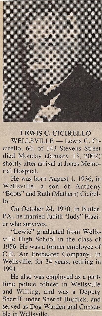 LEWIS CICIRELLO 1956