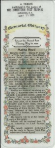 Marna Potter 1928