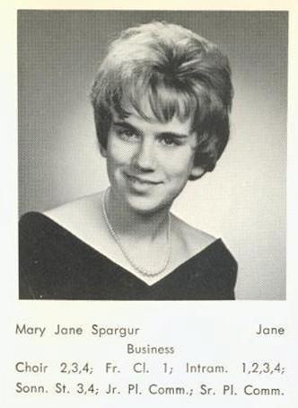 Spargur, Mary