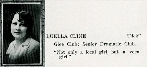 cline, luella