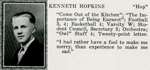hopkins, kenneth