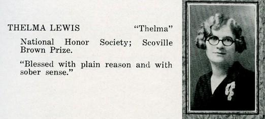 lewis, thelma