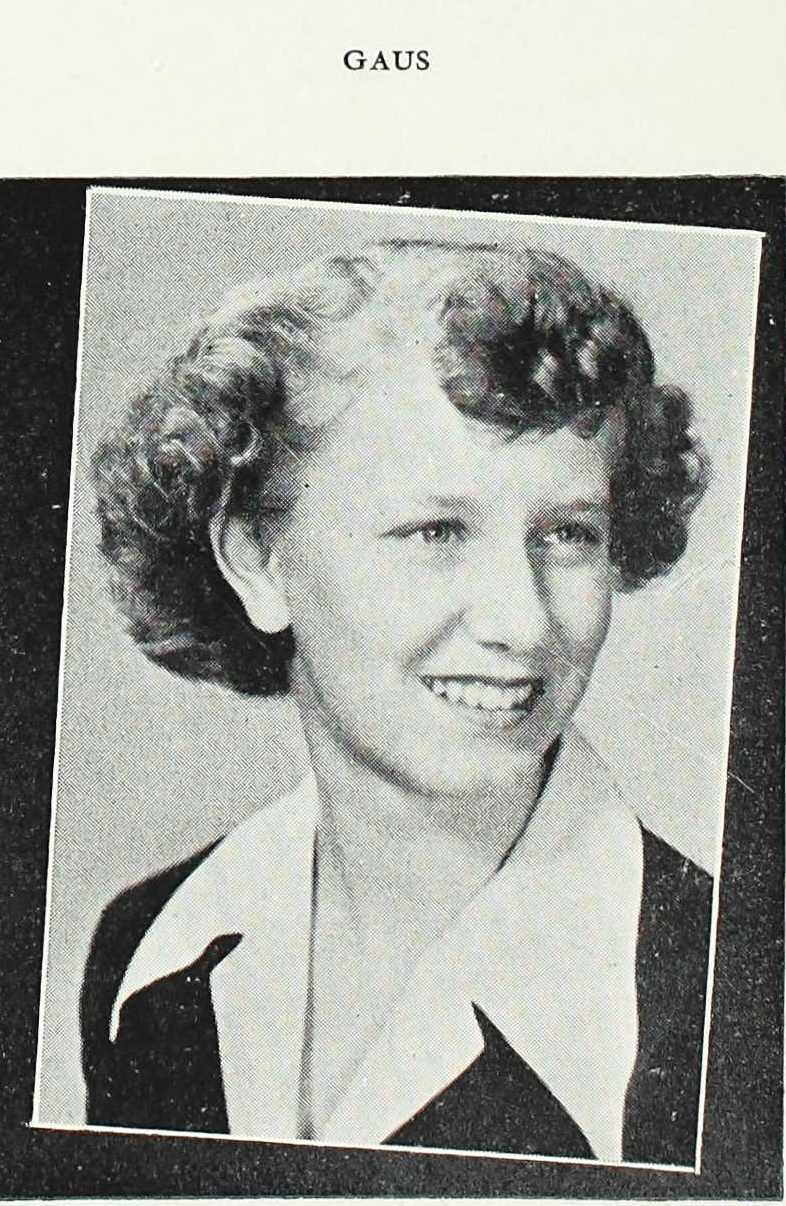 mary gaus 1942