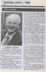 obit robert bower