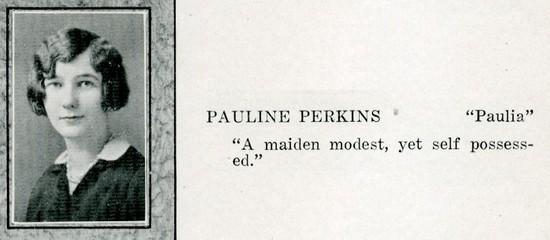 perkins, pauline