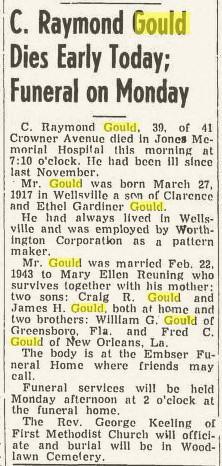 raymond gould 1936