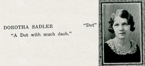 saddler, dorotha
