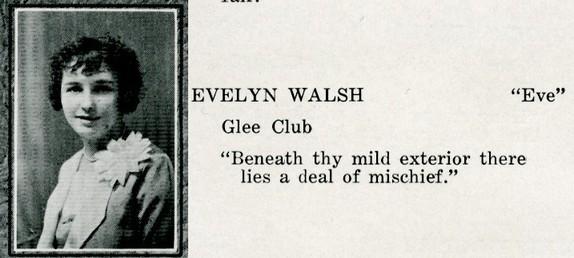 walsh, evelyn