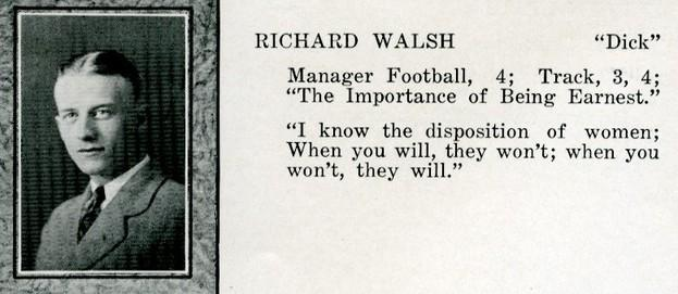 walsh, richard