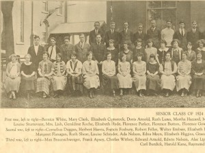 Class of 1924 #1 cropped