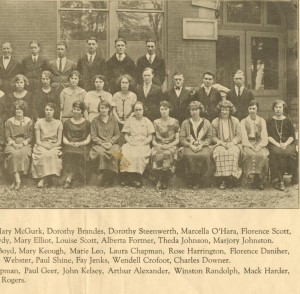 Class of 1924 #2 cropped